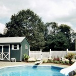 Erney Landscaping Backyard residential pool landscaping